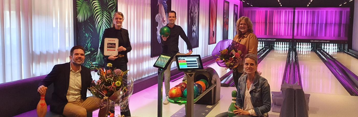 Bowlingprijs in Winterswijk.