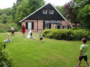 Familiehuis op een recreatiepark.
