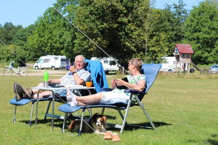 Camping voor senioren.