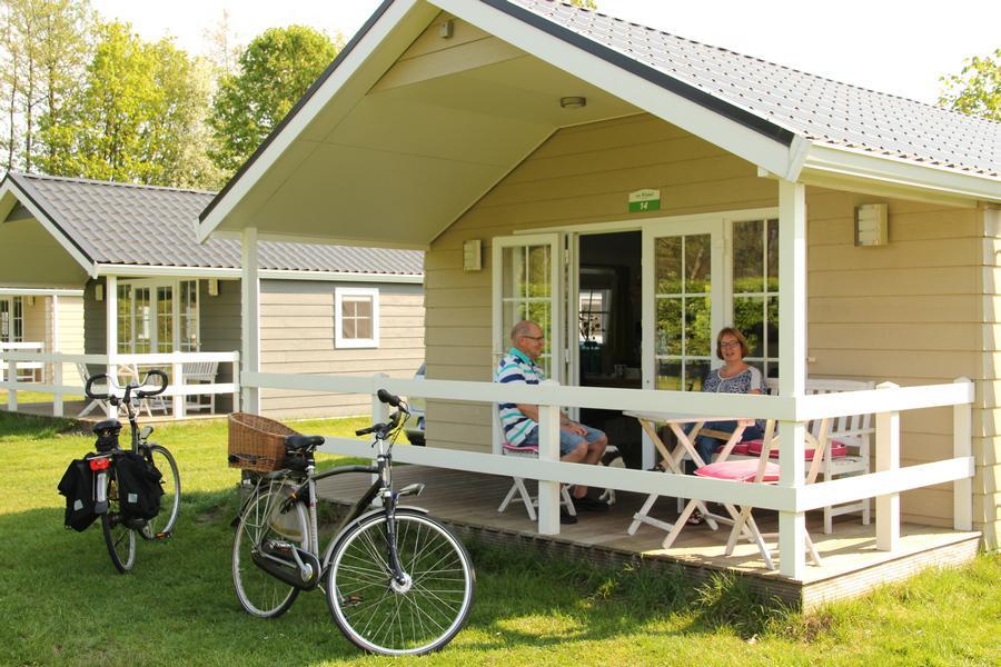 Accommodaties op de camping.